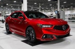 Спецверсию Acura TLX будут собирать вручную вместе с NSX