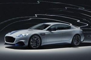 Aston Martin представил свой серийный электрический суперкар Rapid E