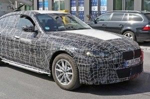 Фотошпионы заглянули внутрь электромобиля BMW i4