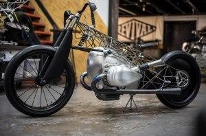 Revival Cycles построили «прозрачный» мотоцикл из титана
