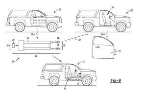 Ford запатентовал новые двери для возрожденного Bronco