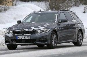 Новый универсал BMW 3-Series сняли на видео