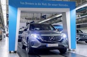 В Европе стартовали продажи первого электрического кроссовера Mercedes-Benz