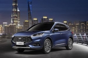 Ford представил китайскую версию Kuga